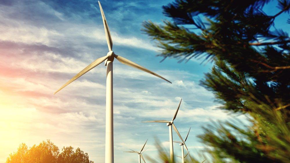 Med vindmøller udnytter man vinden til at producere elektricitet. Kan lignende bæredygtige løsninger forene økonomisk vækst og miljøhensyn i fremtiden?