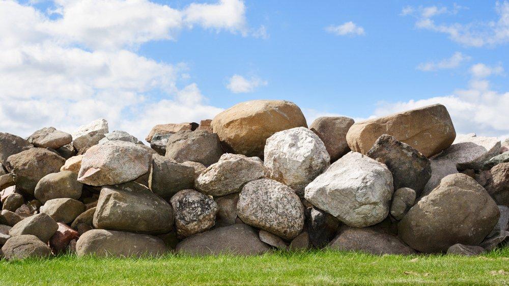 Sten fortæller historier om, hvad der er sket i Jordens fortid.