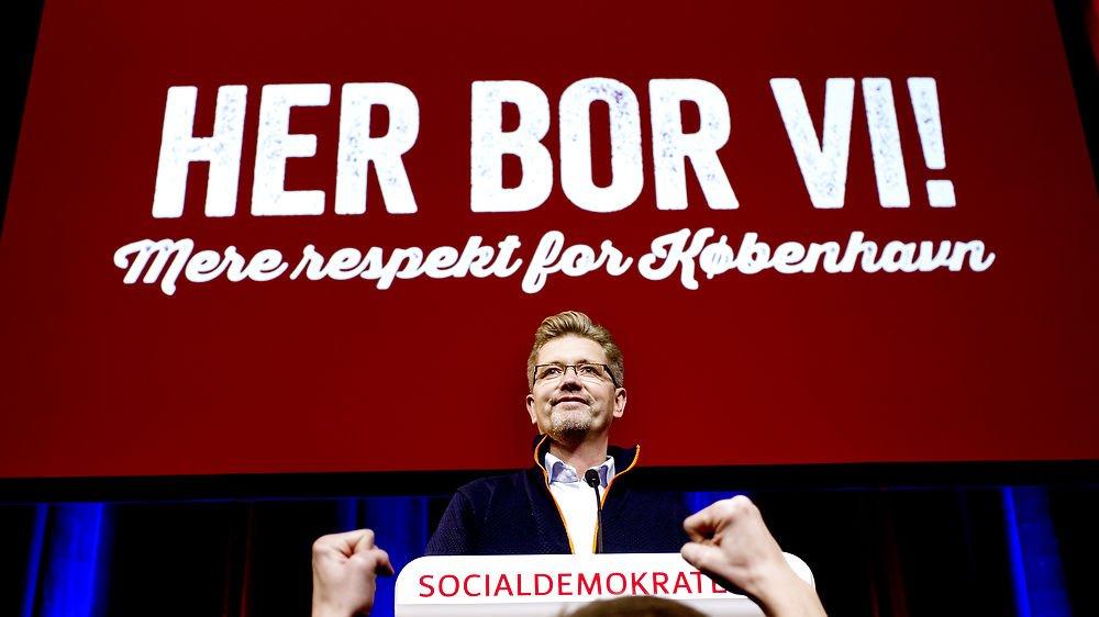 Der afholdes kommunalvalg i Danmark hvert fjerde år. Her er Frank Jensen blevet genvalgt som overborgmester i København i 2013.